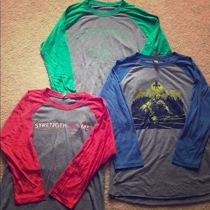CrossFit 3/4 Sleeve Shirt Bundle